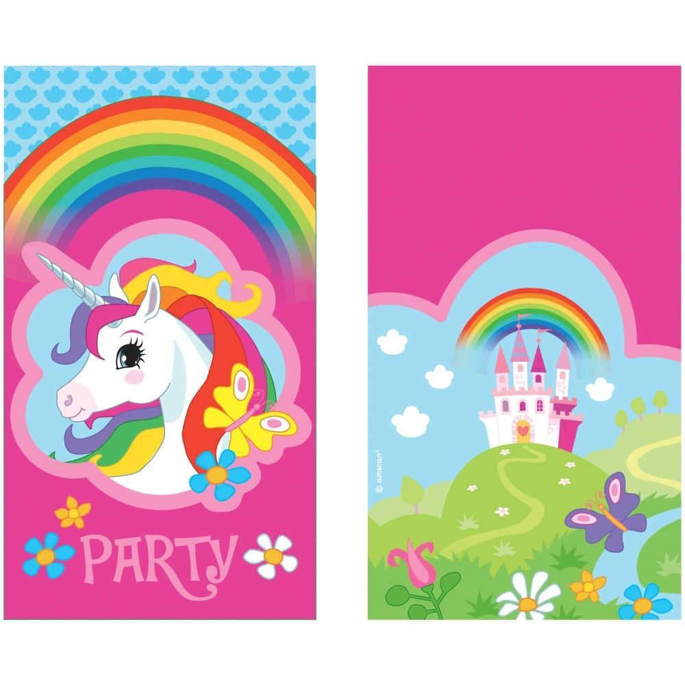 Unicorn Party Invitations   Invites