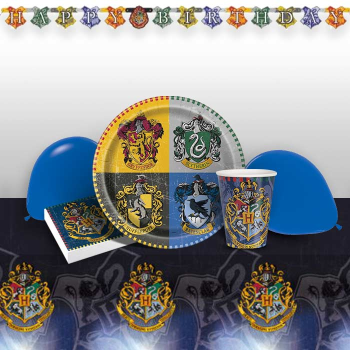 Harry Potter Party 8 to 48 Guest Premium Party Pack Tableware