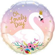 "Swan | Oh Lovely Day 18"" Foil 