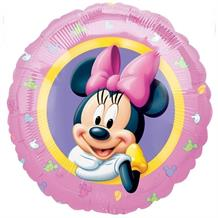 Minnie Mouse Portrait Foil | Helium Balloon