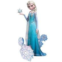 Disney Frozen Elsa 4ft Giant Lifesize Helium Balloon