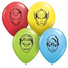 "Marvel Avengers 5"" Qualatex Latex Party Balloons"