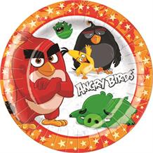 Angry Birds Movie Red Party Plates