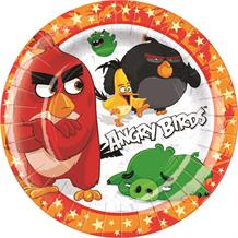 Angry Birds Movie Red Party Cake Plates