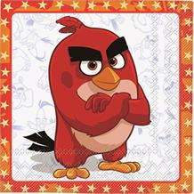 Angry Birds Red Movie Party Napkins | Serviettes