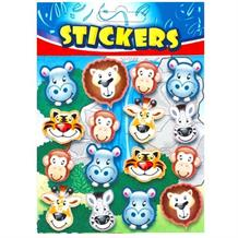 Zoo Sticker Sheet Party Bag Filler | Favour