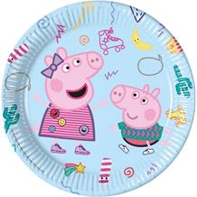 Peppa Pig Treats Party Plates 23cm