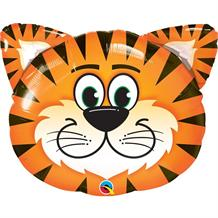"Tiger Head 30"" Shaped Foil 