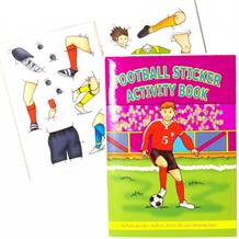 A6 Football Sticker Activity Party Bag Favour