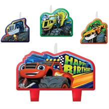 Blaze & the Monster Machine Party Cake Candles