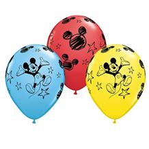Mickey Mouse 25pk Helium Quality Latex Balloons