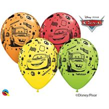Disney Cars Lightning McQueen and Tow Mater Party Latex Balloons