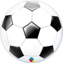 "Football | Soccer 22"" Sphere Bubble Balloon"