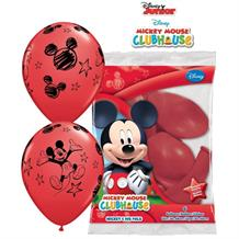 Mickey Mouse Clubhouse Helium Quality Latex Party Balloons