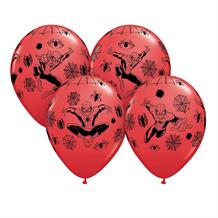 Marvel Ultimate Spider-Man Helium Quality Latex Party Balloons