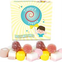 Timmy's Treats Dolly Mixtures Sweet Gift Box 125 grams