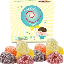 Timmy's Treats Fruit Pastilles Sweet Gift Box 125 grams