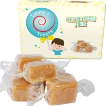 Timmy's Treats Clotted Cream Fudge Gift Box 150 grams