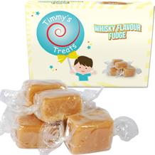 Timmy's Treats Whisky Flavour Fudge Gift Box 150 grams