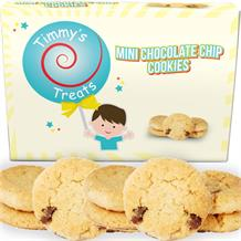 Timmy's Treats Mini Chocolate Chip Cookies | Biscuits Gift Box 150 grams