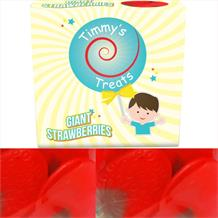 Timmy's Treats Giant Strawberries Sweet Gift Box 125 grams