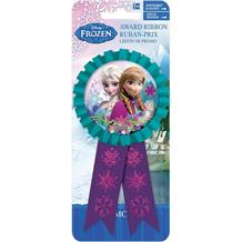 Frozen Anna & Elsa Confetti Award Ribbon Favour
