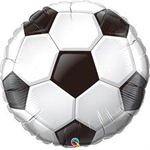 Football | Soccer Shaped Foil | Helium Balloon