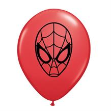 "Spiderman 5"" Qualatex Latex Party Balloons"
