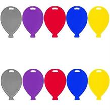 Primary Coloured Balloon Weights