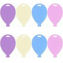 Pastel Coloured Balloon Weights