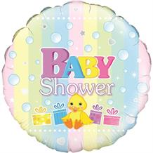 "Baby Shower Duck | Presents 18"" Foil 