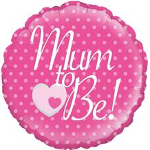 "Mum to Be | Baby Shower 18"" Foil 