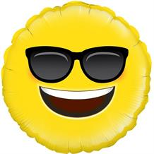 "Cool | Sunglasses Emoji 18"" Foil 