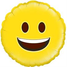 "Happy Emoji 18"" Foil 