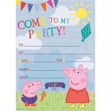 Peppa Pig Ice Cream Party Invitations | Invites