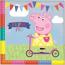 Peppa Pig Ice Cream Party Napkins | Serviettes
