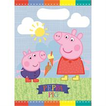 Peppa Pig Ice Cream Party Favour Loot Bags