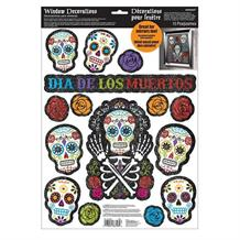 Day of the Dead | Halloween Window Stickers Decorations