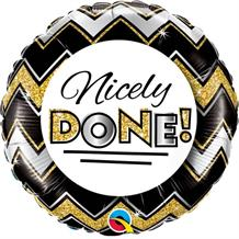 "Nicely Done | Well Done 18"" Foil 