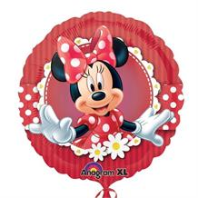 Minnie Mouse Red Polka Dot Party Foil | Helium Balloon