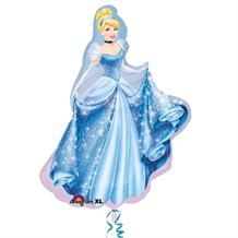Cinderella Shaped Foil | Helium Balloon