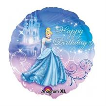 Cinderella Happy Birthday Foil | Helium Balloon