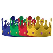 Medieval Thrones Party Crown Hats