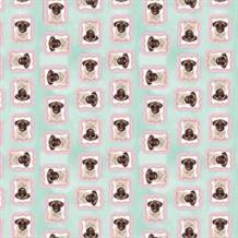 Pug | Puppy Gift Wrap Roll 4M