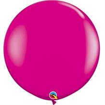 Wild Berry 3ft Qualatex Helium Quality Decorator Latex Party Balloons