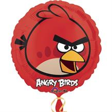 Red Angry Birds Foil | Helium Balloon