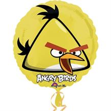 Angry Birds Yellow Foil | Helium Balloon