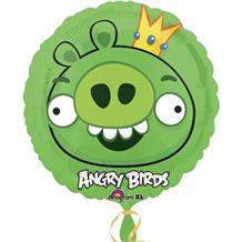 Angry Birds Green Pig Foil | Helium Balloon