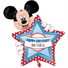 Mickey Mouse Personalisable Birthday Foil | Helium Balloon