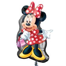 Minnie Mouse Shaped Foil | Helium Balloon